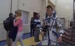 นักบินอวกาศชาวอังกฤษคนแรกบน ISS
