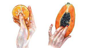 ทดสอบศีลธรรม! ภาพวาดผลไม้ชวนคิดลึก ฝีมือศิลปินสุดแนว Marijke Bouchier