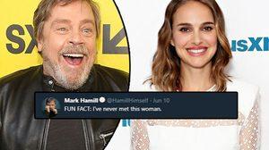 มาร์ก ฮามิล ไม่เคยเจอ นาตาลี พอร์ตแมน ทั้งๆ ที่เล่นเป็นแม่ลูกกันใน Star Wars!