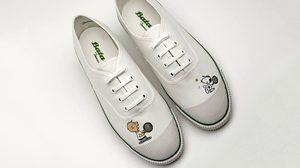 รองเท้าผ้าใบบาจา Peanuts x Bata Tennis
