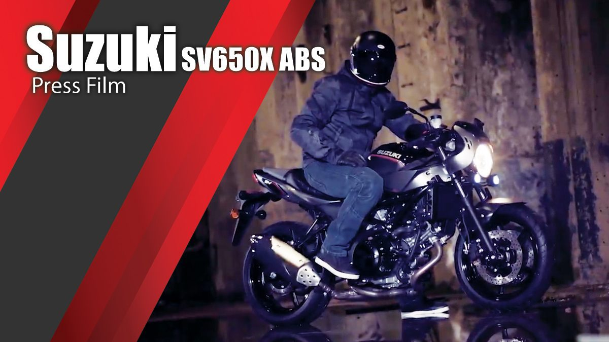 Suzuki SV650X ABS Press Film