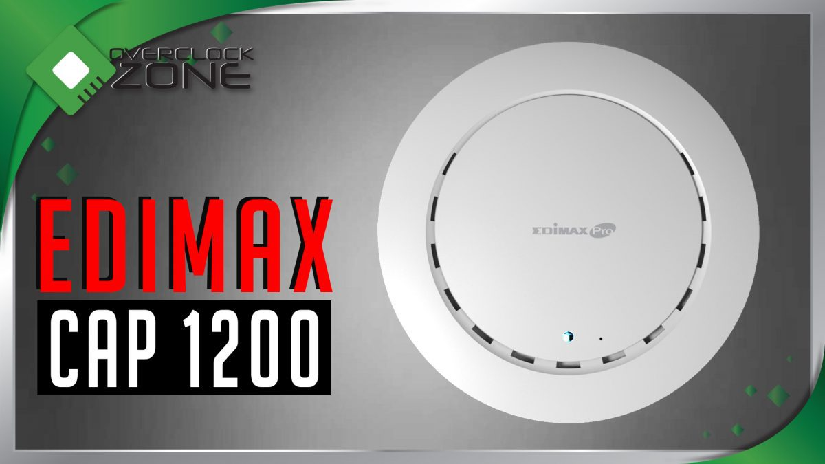 รีวิว EDiMAX CAP1200 : Wireless Access Point