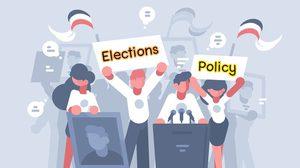 คำศัพท์ภาษาอังกฤษ เกี่ยวกับการเลือกตั้ง
