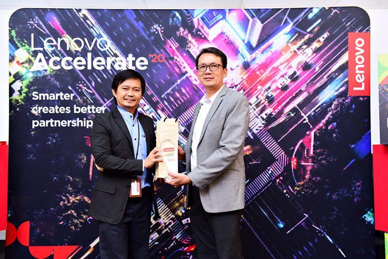 เมโทรซิสเต็มส์ฯ รับรางวัล Top DCG Partner for Services Lenovo Accelerate'20