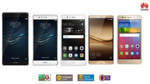 Huawei ยกทัพสมาร์ทโฟน 5 รุ่นดัง 9 Plus, P9 นำทีม จัดโปร 0% สูงสุด 18 เดือน