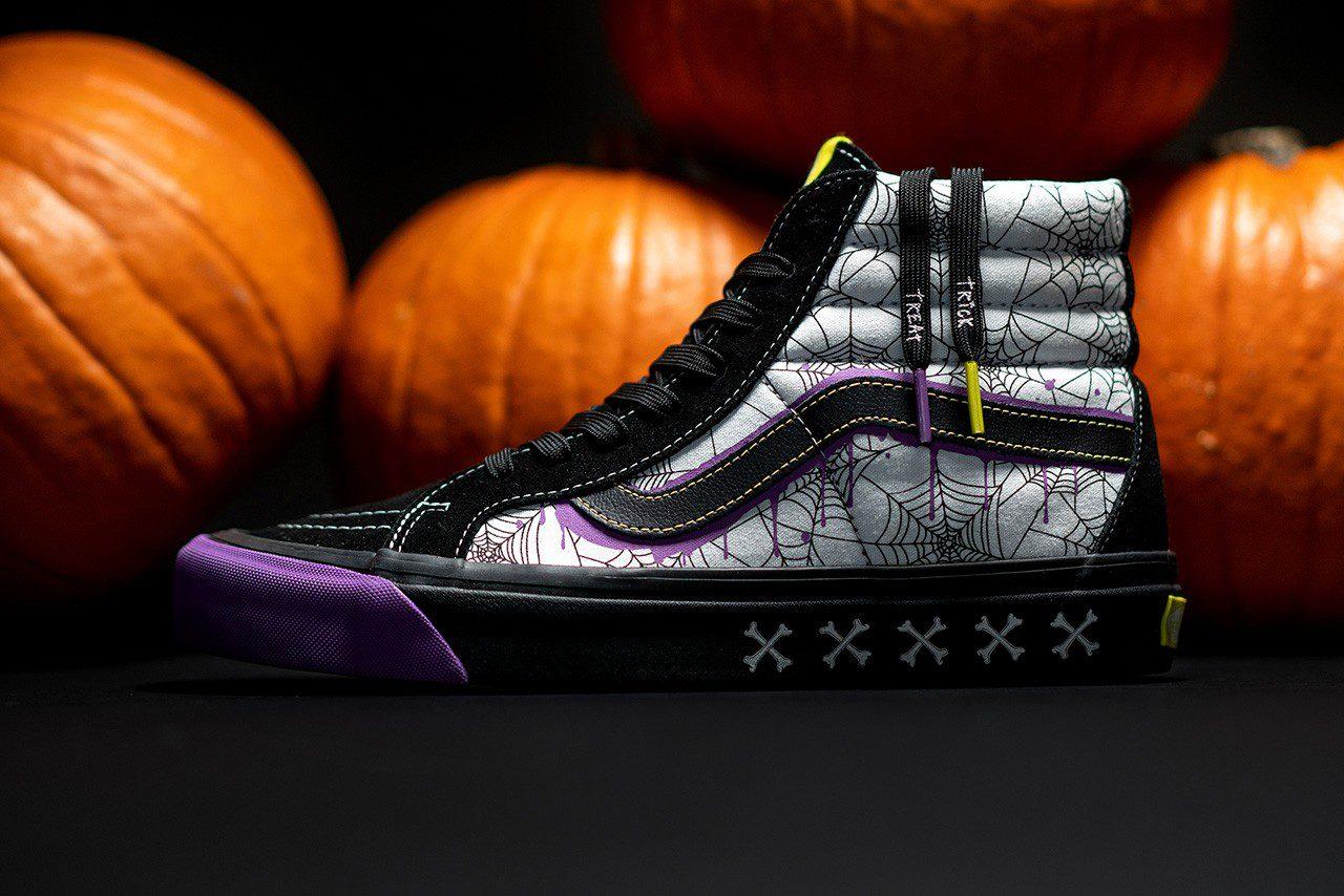 size? x Vans Sk8-Hi Halloween
