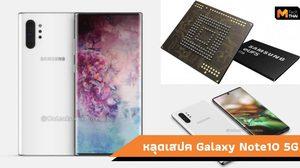 หลุดสเปค Galaxy Note10 5G มากับความจำ 1 TB  และ RAM 12GB