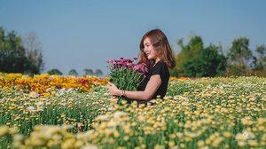 เที่ยวลั้ลลาในสวนดอกไม้ ณ บ้านห้วยสำราญ จ.อุดรธานี