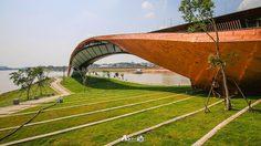 พาสาน สัญลักษณ์ต้นแม่น้ำเจ้าพระยา จุดเช็คอิน ชมวิว สุดชิลล์ แห่งใหม่ของปากน้ำโพ