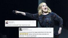 แม้แต่ค้างคาวก็ยังอยากดูคอนเสิร์ตของ Adele !?