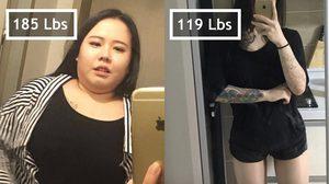 จีบตอนนี้แถมฟรีตอนผอม! สาวเกาหลี ลดน้ำหนัก 6 เดือน ลง 30 กก. สวยแซ่บขึ้นเป็นกอง