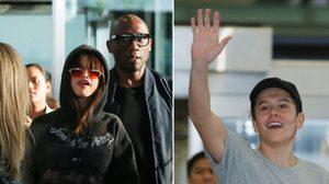 ภาพบรรยากาศ Selena Gomez – Jai Waetford ลัดฟ้าถึงไทยแล้ว!