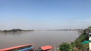 ระดับน้ำในแม่น้ำโขงเริ่มลดลง แม่น้ำภาคอีสานระบายได้ดีขึ้น