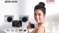 Canon เผยโฉม EOS M100 สุดยอดกล้องมิเรอร์เลสแห่งยุค ให้ทุกภาพถ่ายสวยใส เป็นธรรมชาติ