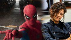 เซนดายา ทำตัวไม่ถูก หลังสไปเดอร์แมนมาส่งถึงที่ ในคลิปกองถ่าย Spider-Man: Far From Home