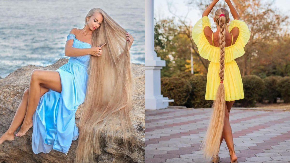 ราพันเซลในชีวิตจริง Alena Kravchenko นางแบบสาว ที่ไม่ตัดผมมา30ปี ผมยาว2เมตร