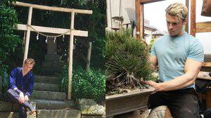 หนุ่มหล่อนักเพาะกายจากสวีเดน เปลี่ยนสัญชาติ เป็นคนญี่ปุ่น หลังหลงรักการทำสวน