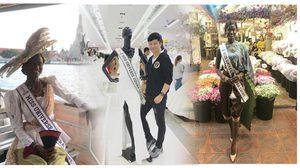เปิดภาพกลุ่มคนไทย ทำสายสะพาย-จัดชุด พามิสเซียร์ราลีโอน ทัวร์เที่ยวกรุงเทพฯ