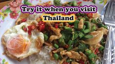 Try It When You Visit Thailand