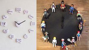 DIY นาฬิกาแต่งห้องสวยๆ เก๋ๆ ที่ทำได้เองง่ายๆ