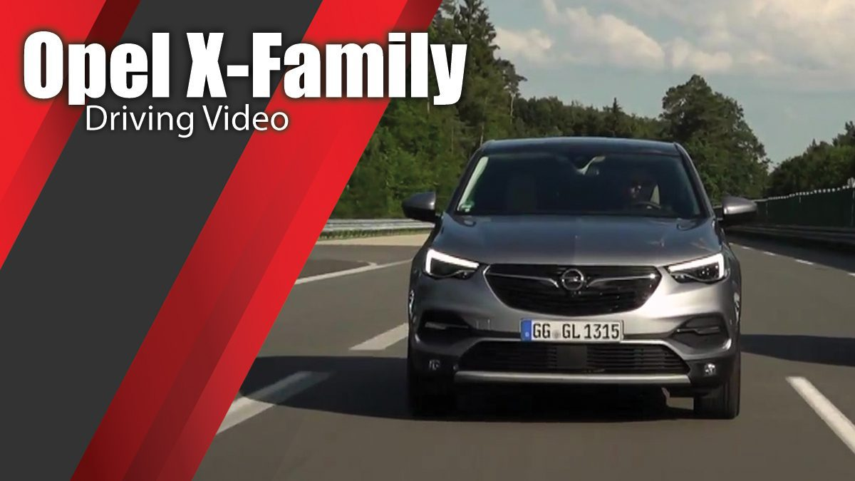 Opel X-Family Driving Video