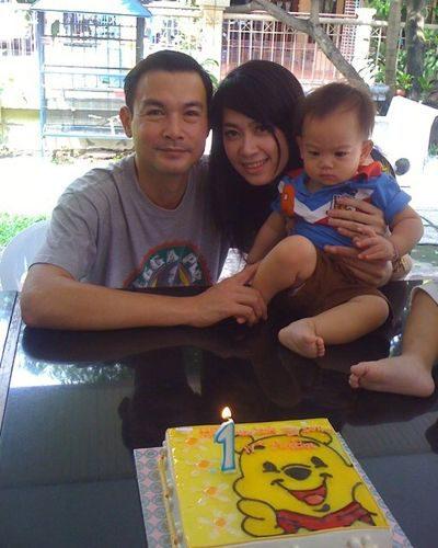 โอ วรุฒ - เก๋ อดีตภรรยา และลูกชาย