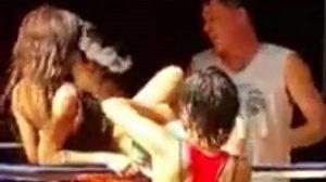 เสื่อม! ภาพฝรั่งเบิร์น สาวไทยโจ๋งครึ้ม ขณะเล่นสงกรานต์ (คลิป)