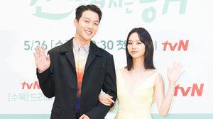 """ฮเยริ ควงคู่ จางกียง เปิดตัว """"My Roommate is a Gumiho"""" ออริจินัลซีรีส์เกาหลีเรื่องแรกของ iQiyi"""