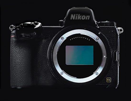 Nikon-Mirrorless Fullframe ด้านหน้า