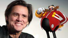 จิม แคร์รีย์ เป็น เอ้กแมน ในหนังแอนิเมชั่นที่ดัดแปลงจากเกมชื่อดัง Sonic the Hedgehog
