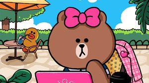 Choco น้องสาวพี่หมี Brown / LINE