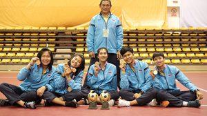 ตะกร้อ สาวไทย กวาดแชมป์ปิดท้ายศึก ตะกร้อ เอเชียนแชมเปี้ยนชิพ ที่ จีน