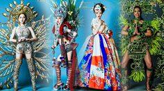 สวยตะลึง ชุดประจําชาติ สุดอลังการ Miss International Queen 2018