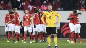 ผลบอล : สวิตเซอร์แลนด์ vs เบลเยียม !! สวิส โดนก่อน 2 เม็ดรัวดับอนาถ เบลเยียม 5-2