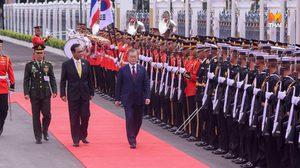 นายกรัฐมนตรี ต้อนรับ มุน แจ-อิน เยือนประเทศไทยอย่างเป็นทางการ