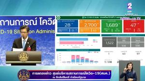 สรุปแถลง ศบค. โควิด 19 ในไทย วันนี้ 17/04/2563   11.30 น.