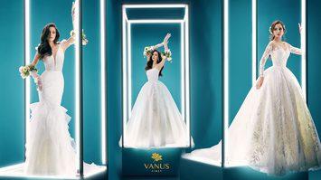"""ชุดแต่งงานสไตล์ฝรั่งเศส เทรนด์ใหม่ล่าสุด """"Aura on light"""" - วนัช เฟิร์ส"""