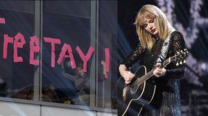 ซุปเปอร์วูแมน 'Taylor Swift' ชนะคดีล่วงละเมิดทางเพศ เรียกค่าเสียหายแค่ 33 บาท!!