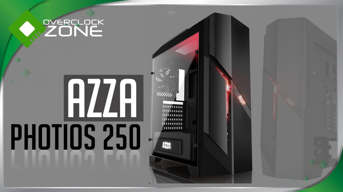 รีวิว AZZA Photios 250 : Mid-Tower Tempered Glass Chassis