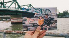 เดินเที่ยว ชมวิว สะพานพุทธ ตามรอย เฌอปราง กัปตัน BNK48 จากหนัง HOMESTAY