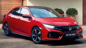 Honda Civic 2017 เครื่องยนต์ดีเซลขนาด 1.6 ลิตร เวอร์ชั่นยุโรป