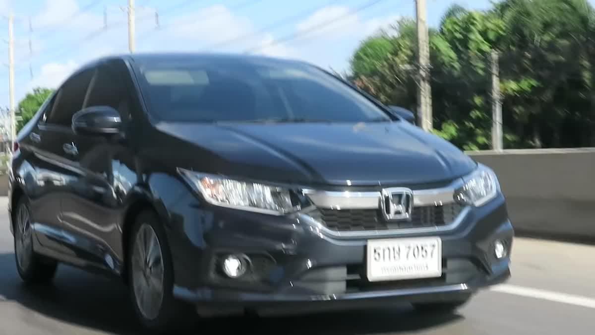 Honda City MY17 สุดยอด B-Segment ลงตัวกับครอบครัวไทย