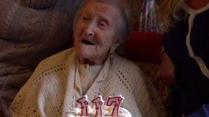 เคล็ดลับอายุยืน!! หญิงชรา ชาวอิตาลี ฉลองวันเกิดครบ 117 ปี อายุยืนที่สุดในโลก