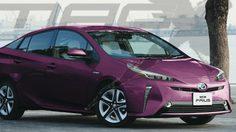 เปิดภาพ Toyota Prius 2019 รุ่นปรับโฉม facelift คาดว่าอาจเปิดตัวสิ้นปีนี้
