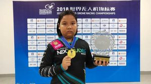 สุดยอด! เด็กไทยวัย 11 ปี คว้าแชมป์โลก แข่งขันบังคับโดรน