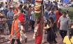 ชาวฮินดูฉลองเทศกาลไทปูซัมในมาเลเซีย