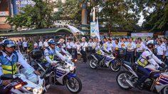ขสมก. รณรงค์ป้องกันอุบัติเหตุทางถนนช่วงเทศกาลปีใหม่ 2562