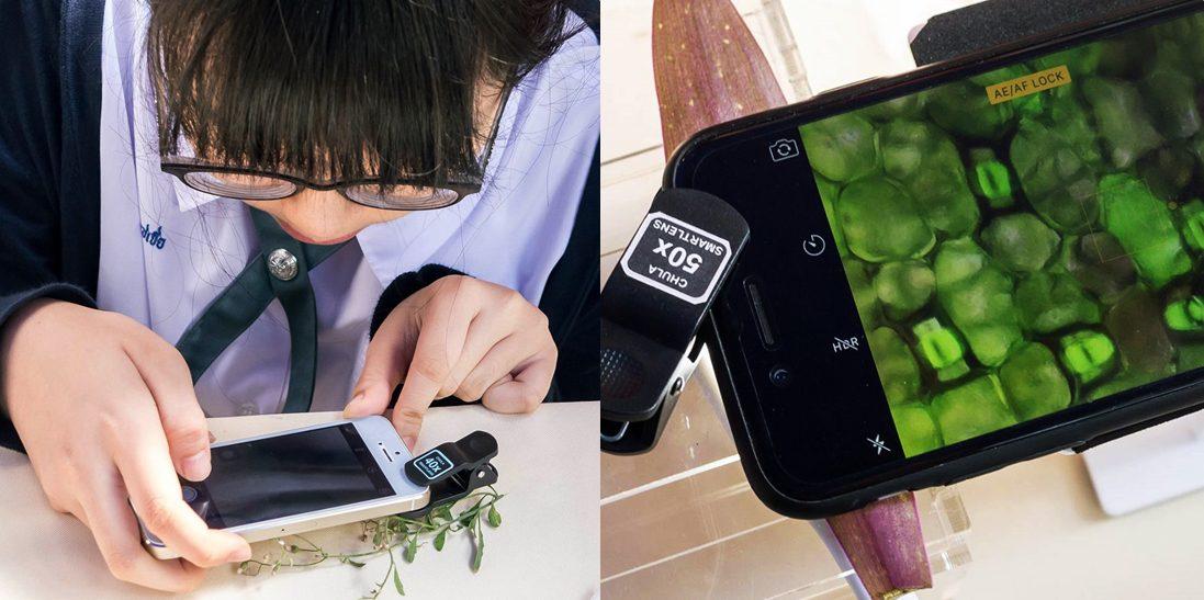 จุฬาฯ สมาร์ทเลนส์ เปลี่ยนกล้องโทรศัพท์ให้เป็นกล้องจุลทรรศน์แบบพกพา