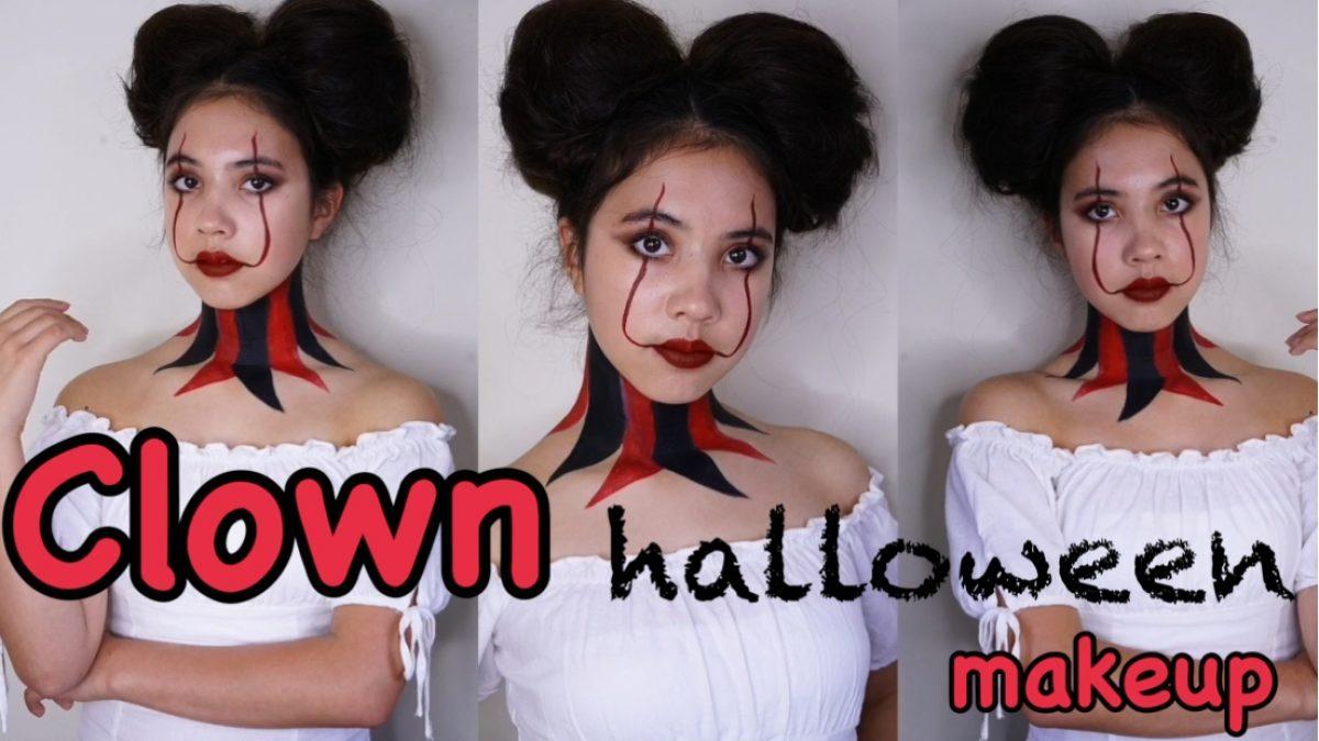ฮาโลวีนลุค แต่งหน้าให้เป็น Clown