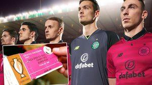 แบบนี้ก็ได้เหรอ? เซลติก เปิดตัวชุดสีชมพู ดีไซน์จากตั๋วนัดชิงบอลยุโรป